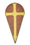 Het schild van de ridder Royalty-vrije Stock Afbeeldingen