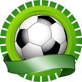 Het Schild van de voetbal Royalty-vrije Stock Afbeeldingen