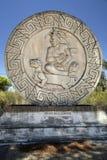 Het schild van Inca Royalty-vrije Stock Foto