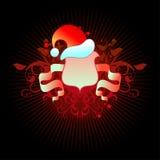 Het schild van Kerstmis Royalty-vrije Stock Afbeeldingen