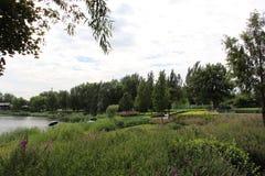 Het schilderachtige Park van het Noordenhollywood Stock Foto