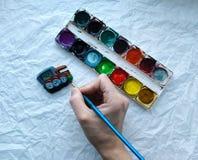 Het schilderen Royalty-vrije Stock Fotografie