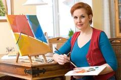 Het schilderen Royalty-vrije Stock Foto's