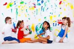 Het schilderen Royalty-vrije Stock Afbeelding
