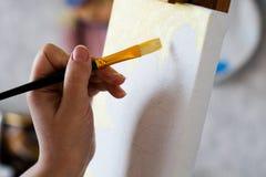 Het schilderen Royalty-vrije Stock Afbeeldingen