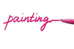 Het schilderen Stock Fotografie