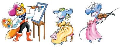 Het schilderen stock illustratie