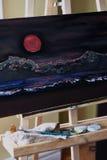 Het schilderen Stock Afbeeldingen