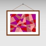 Het schilderen abstractie Stock Afbeeldingen