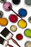 Het schilderen en het Verfraaien Stock Fotografie