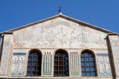 Het schilderen en mozaïek 1 van Bysantine royalty-vrije stock foto's