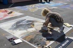 Het schilderen Festival Stock Afbeeldingen