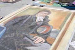 Het schilderen Festival stock fotografie