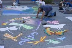 Het schilderen Festival Royalty-vrije Stock Afbeeldingen