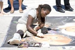 Het schilderen Festival stock foto's