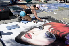 Het schilderen Festival Royalty-vrije Stock Fotografie