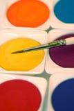 Het schilderen kleuren Stock Afbeelding