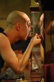 Het schilderen maskers Stock Fotografie