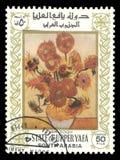 Het schilderen Stilleven door Van Gogh Royalty-vrije Stock Afbeelding