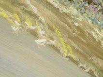 Het schilderen textuuroppervlakte Royalty-vrije Stock Foto's