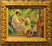 Het Schilderen van de impressionist Stock Foto's