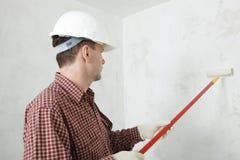 Het schilderen van de muur Royalty-vrije Stock Foto