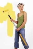 Het schilderen van de muur Royalty-vrije Stock Fotografie