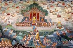 Het schilderen van de muurschildering. Royalty-vrije Stock Afbeeldingen