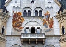 Het schilderen van de muurschildering Royalty-vrije Stock Afbeeldingen