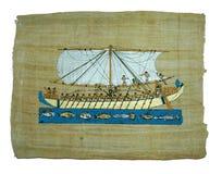 Het schilderen van de papyrus royalty-vrije stock afbeelding