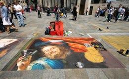 Het schilderen van de vloer Royalty-vrije Stock Afbeelding