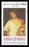 Het schilderen van Flora door Titian Stock Afbeeldingen