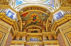 Het schilderen van God Royalty-vrije Stock Afbeelding