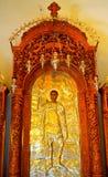 Het schilderen van heilige Demetrios royalty-vrije stock fotografie