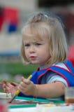 Het schilderen van het kind Royalty-vrije Stock Fotografie