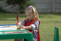Het schilderen van het kind Royalty-vrije Stock Afbeelding