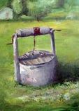 Het schilderen van het stilleven Stock Afbeeldingen