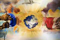 Het schilderen van Salvador Dali Royalty-vrije Stock Foto's