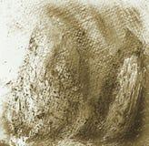Het schilderen voor een binnenland op een canvas vector illustratie