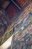 Het schilderen in Wat Pho Temple Stock Foto