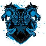 Het schildpatroon van het paard vector illustratie