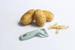 Het Schilmesje van de aardappel Stock Afbeeldingen