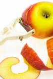 Het Schilmesje van de appel Stock Foto's