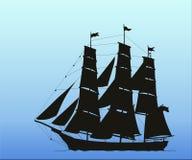 Het schip. Royalty-vrije Stock Afbeelding