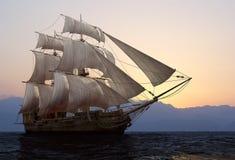 Het schip vector illustratie