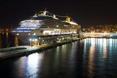 Het schip Costa Favolosa van de cruise Stock Foto