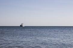 Het schip is de Zwarte Zee De Krim, 2015 Stock Foto's