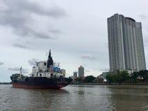 Het schip dokt Royalty-vrije Stock Foto's