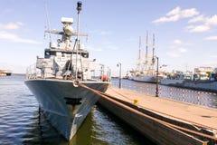 Het schip Grom royalty-vrije stock afbeeldingen