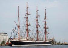 Het schip Sedov van het Ruissianzeil Royalty-vrije Stock Afbeelding